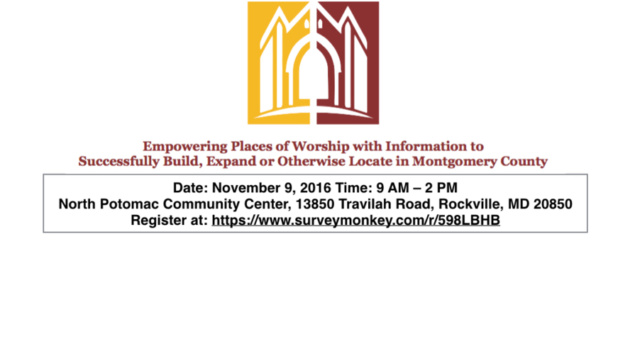 Empowering Places of Worship Flyer
