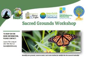 Sacred Grounds Workshop @ Temple Adat Shalom in Bethesda   Bethesda   Maryland   United States