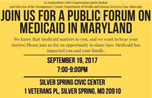 Medicaid in Maryland @ Silver Spring Civic Center | Silver Spring | Maryland | United States