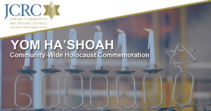 Yom Ha'Shoah Community Wide Commemoration @ Online