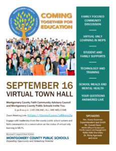 Virtual Education Town Hall @ Zoom